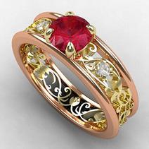 Tempting Vampire Ring