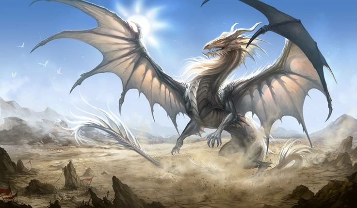 Dragon, silver