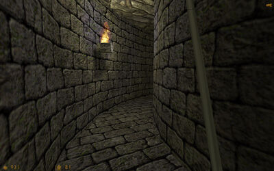 Dungeon around the corner