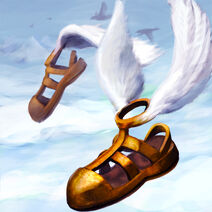 Hermes winged Sandals