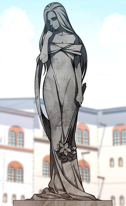 Baran Village's Statue of Freya