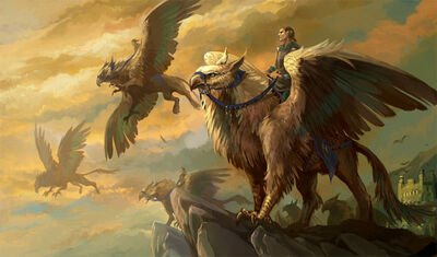 Griffon 2 with riders