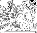 Sphinx on author's map