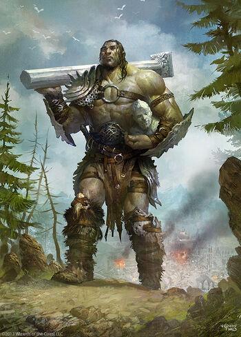 Giant warrior