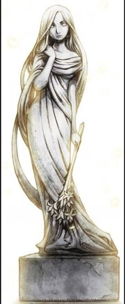 Goddess freya sculpture