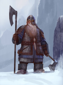 Dwarf warrior oberon