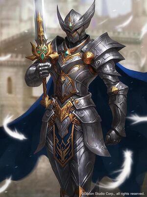 Concept Idea - Goddess's Knight Armor