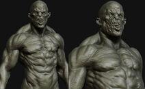 Orc sculpture
