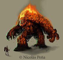 Elemental de fuego chico 2