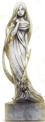 Baran Village Goddess Statue (Goddess Freya)