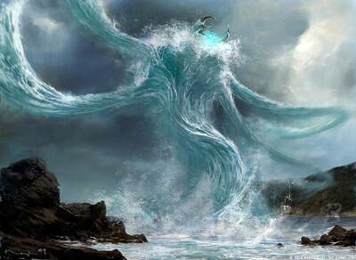 Water-spirit, giant