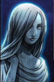 Goddess freya statue face