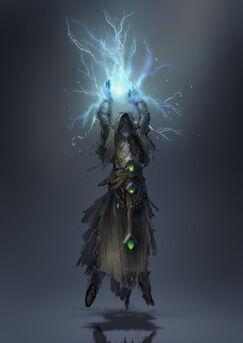 Lightning caster