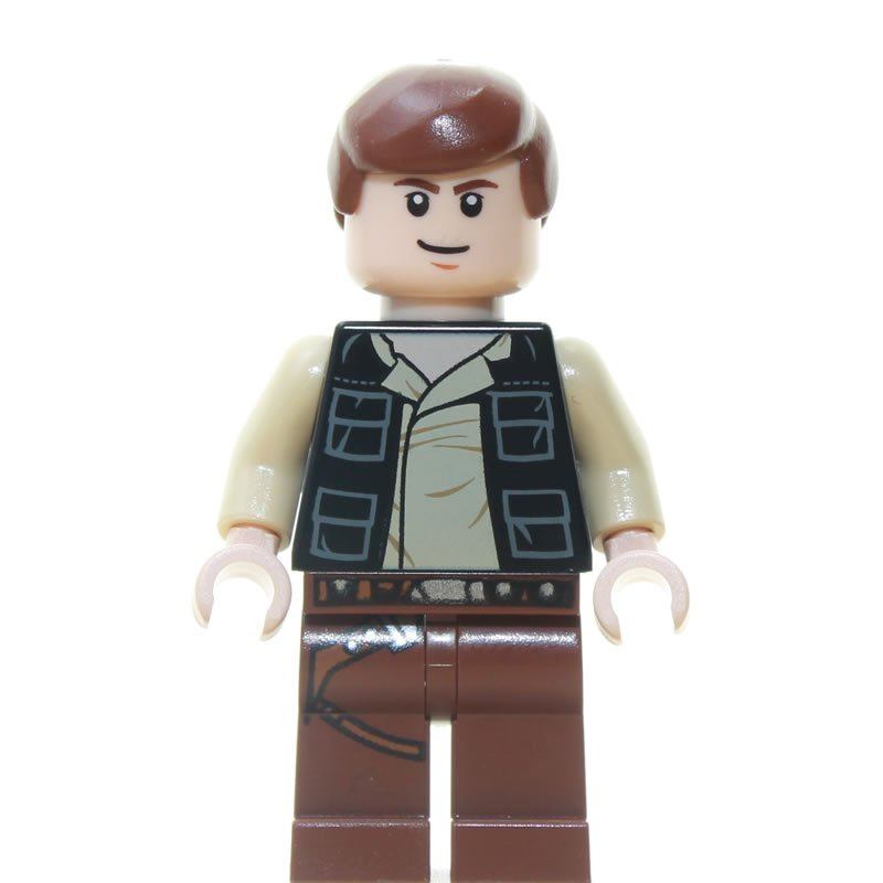 LEGO STAR WARS Minifigure HAN SOLO From Set 6210