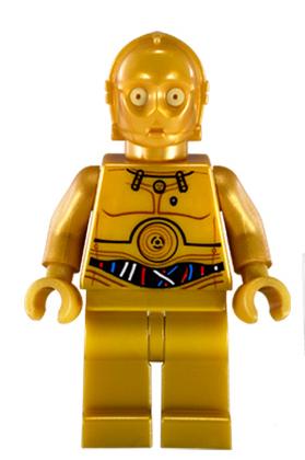 LEGO Star Wars C-3PO Minifigure sw365 9490 10236 Fast Ship