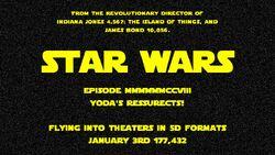 Star Wars Yoda's Reussrects