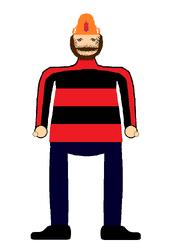 Mr. Fireman- standing (red)