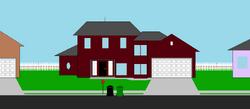 Lenny's house exterior