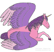 Sofia as a Unicorn made on base by bronzehalo d9op3k9