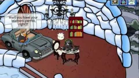 Club Penguin A Christmas Carol!