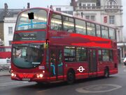 London Bus route 19 at Finsbury Park station terminus