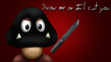 Draw a goomba or die by thelonelygoomba-d6ayl63