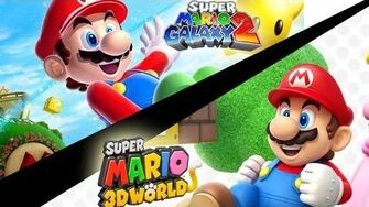 Mario Galaxy vs Mario 3D World-1