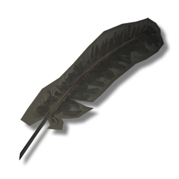 Перо ворона