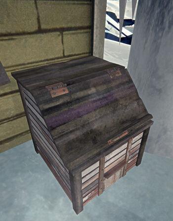 Ящик для угля