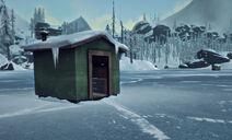 Eisfischerhütten