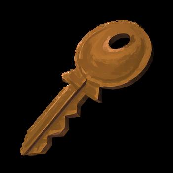 """Ключ от ворот к месту временного размещения оборудования ГЭС """"Картер"""""""