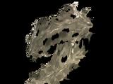 Старый висящий мох