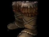 Обувь из оленьей кожи