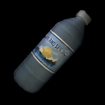 Бутылка непитьевой воды