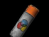 Баллончик с краской