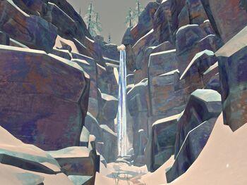 Далекий водопад