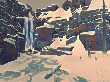 Заоблачный водопад
