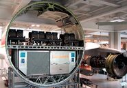 Airbus A300 cross section