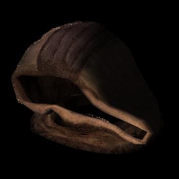 Флисовый капюшон