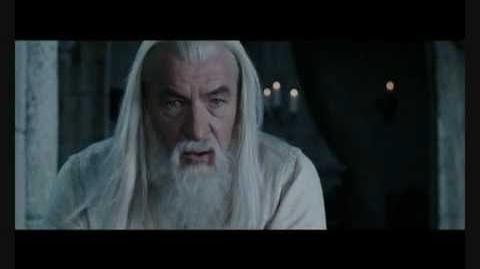 Lord of the Rings the Return of the King the deep breath before the plunge