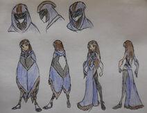 Mandy Wong, Cloak and Formal Dress