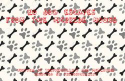 No dog title card
