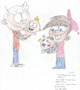 Lincoln, Lily, Timmy, and Poof1