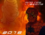 Spider-Man VS Lola Poster