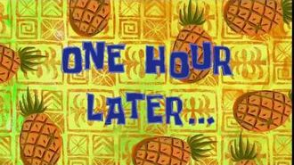 One Hour Later... - SpongeBob Time Card -122