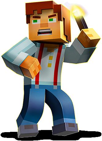 Jesse (Minecraft Story Mode) | The Loud House:Mashup Series