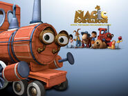 The magic roundabout train wallpaper 1