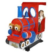 Train coin operated ride