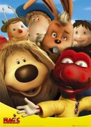 Magic roundabout cast poster