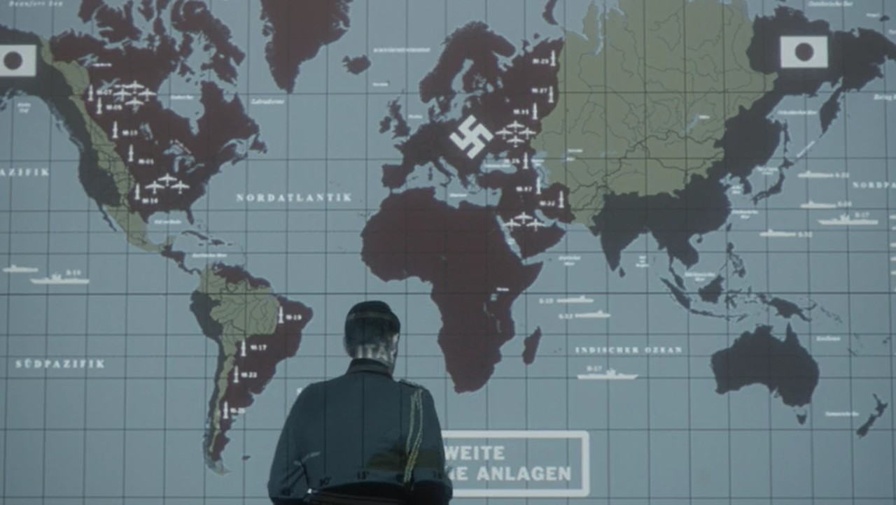 greater nazi reich  the man in the high castle wikia  fandom  - the first season does not go into detail about the extent of the reichonly showing that their portion of the united states is sizable comprisingthe